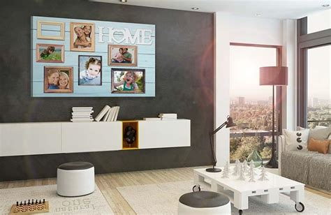 kunst fürs wohnzimmer braunes wohnzimmer