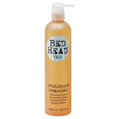 bed head moisture maniac tigi bed head moisture maniac shoo moisturizing 13 5 fl oz 400 ml beauty