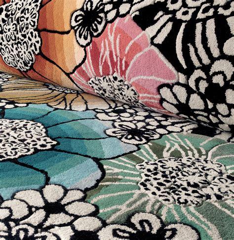 missoni home tappeti tappeto fatto a mano rotondo saturnia by missonihome