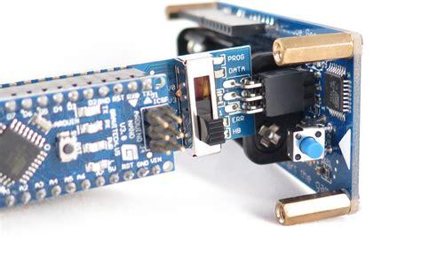 Nano Shield avr programmer shield for arduino nano with voltage