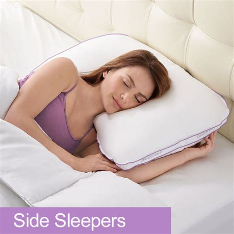 Pillow Firmness For Side Sleepers by Best 25 Side Sleeper Pillow Ideas On Pillows For Side Sleepers Mattresses And Best
