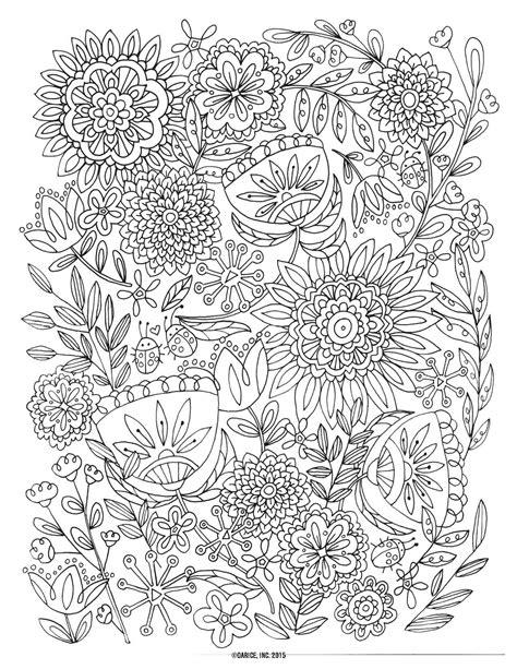 coloring pages for adults floral 9 free printable coloring pages pat catan s
