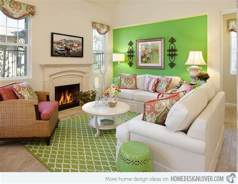 Green Themed Living Room by 20 Refreshing Green Themed Living Rooms Fox Home Design