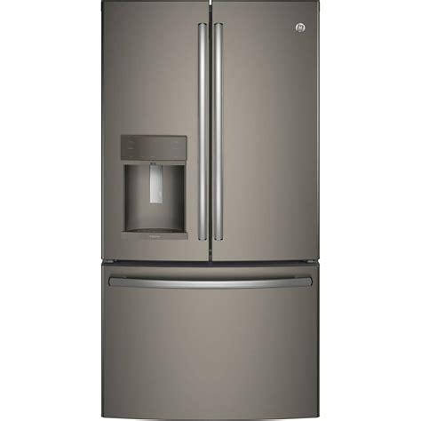 ge adora ge adora 27 7 cu ft door refrigerator in slate
