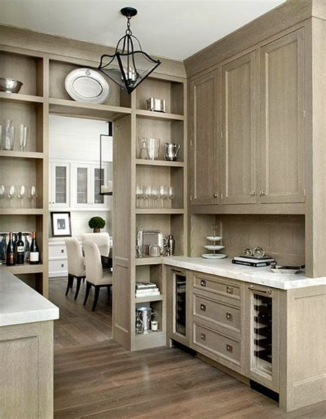 Butler Pantry Cabinets by Floor To Ceiling Open Storage Butlers Pantry Interior Kitchen Open Shelving
