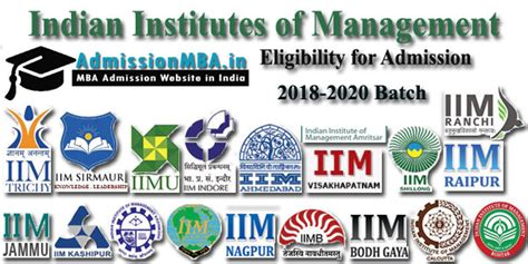 Executive Mba From Iim Eligibility Criteria by Iim Eligibility Criteria For Pgdm Admission Information 2018