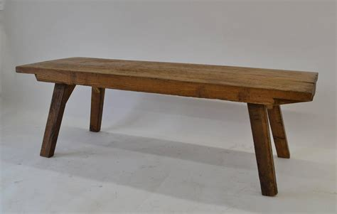 oak butcher s block coffee table at 1stdibs