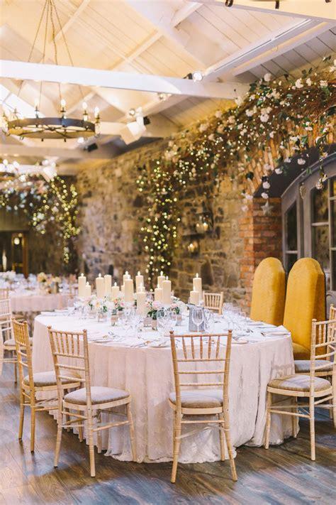 Pastel Rustic Barn Wedding at Ballymagarvey Village in