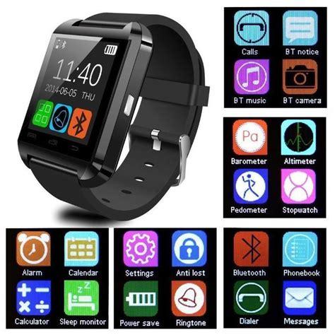 Smartwatch U8 Original 2 Color Black bluetooth smart u8 reloj inteligente smart watches phone mate for ios android