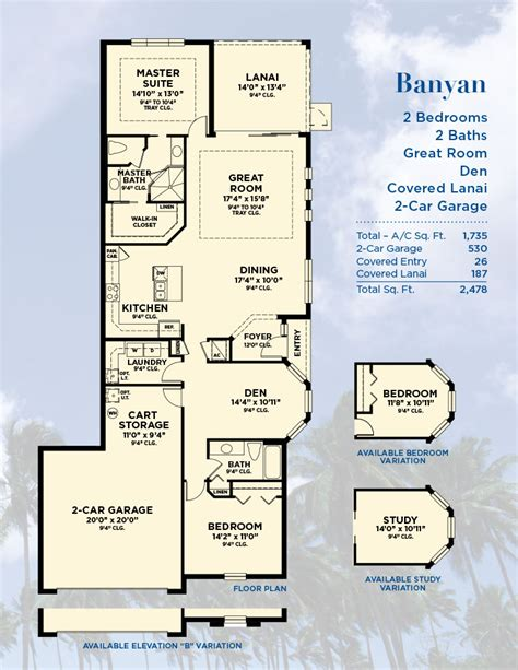 New Tradition Homes Floor Plans Banyan Model Paired Villas By Minto Sarasota New Homes Fl