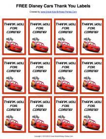 disney cars party favors