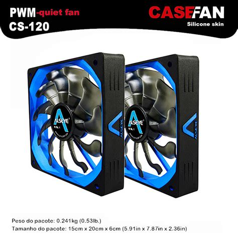 Alseye Eclipse Fan Set buy alseye 2pieces 120mm fan pwm computer fan for cpu cooler 12v 4pin 500 2000rpm silicone