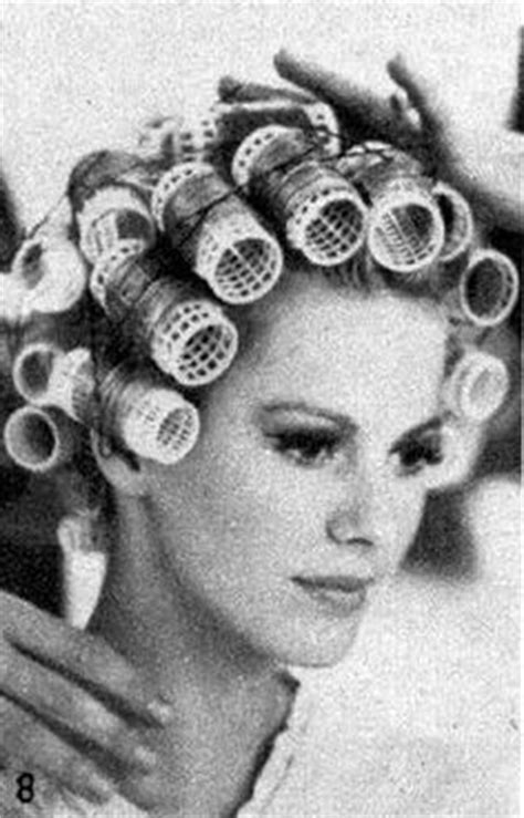 italian domme in hair curlers 1000 images about vintage hair on pinterest marcel