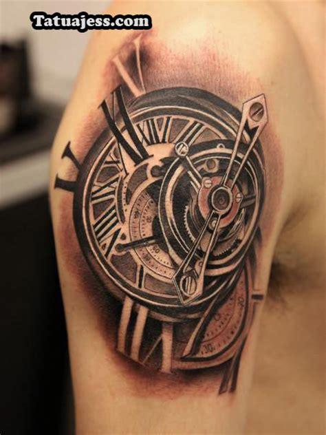 imagenes de tatuajes de relojes antiguos tatuajes de relojes 161 los mejores dise 209 os
