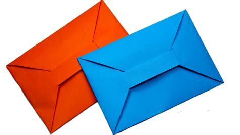 How To Make A Paper Envolope - diy easy origami envelope tutorial