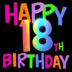 happy 18th birthday wishes 18th birthday category