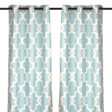 aqua curtain panels aqua maxwell curtain panel set 84 in aqua