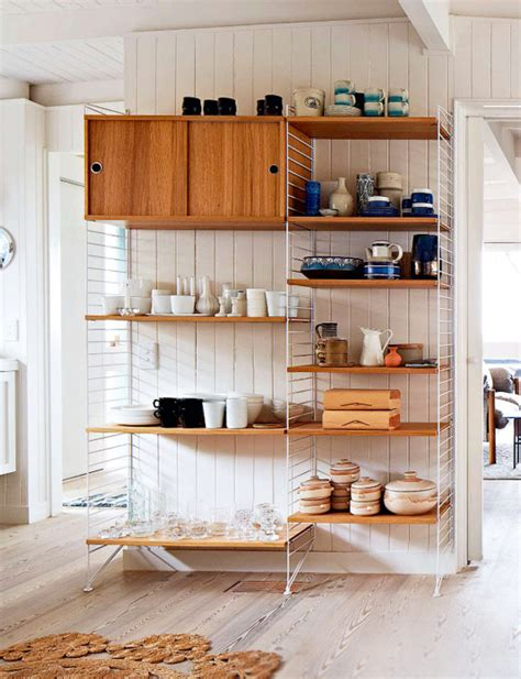 Kitchen Cabinet Shelves 65 Ideas Of Using Open Kitchen Wall Shelves Shelterness