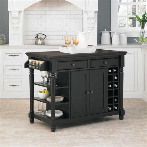 black kitchen island home styles grand torino black kitchen island with storage