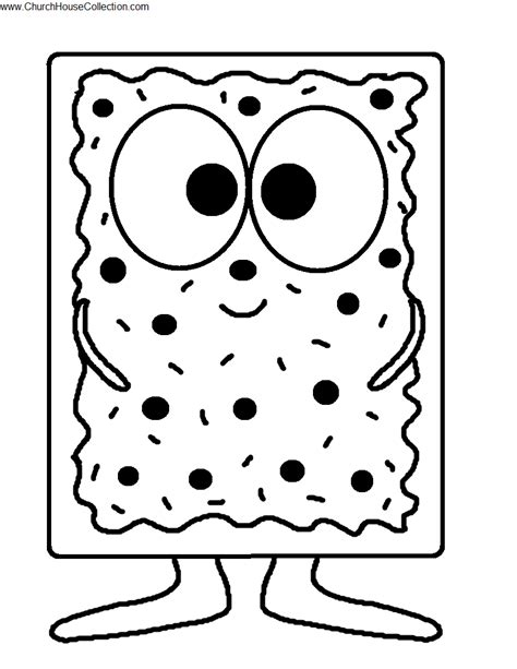Pop Coloring Pages pop tart cutout printable template craft for