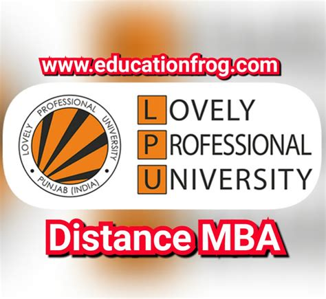 Admission Process For Mba In Lpu by Lovely Professional Distance Education Mba 2018
