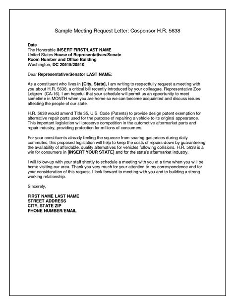 Business Letter Sample For Meeting Request letter sample business letter format request meeting request letter