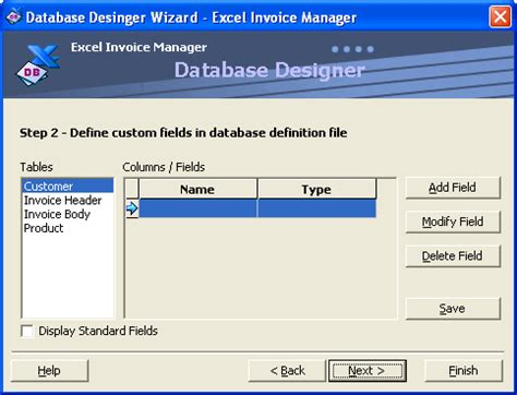 format file rst tutorial on using custom fields excel invoice manager