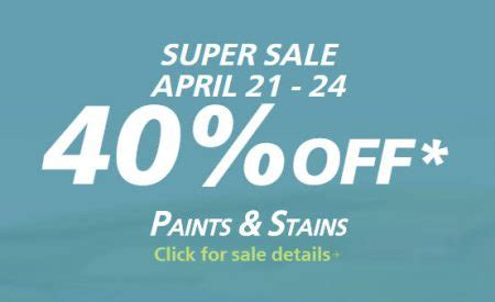 sherwin williams paint sale 2017 sherwin williams super sale 40 off paints stains