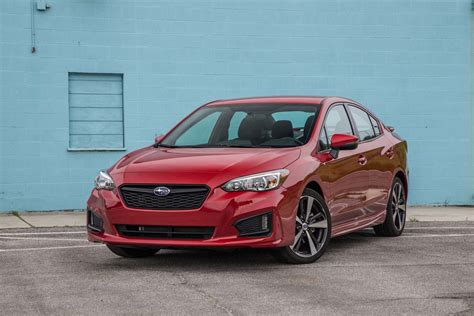 subaru impreza sedan 2017 subaru impreza sedan and hatchback first test