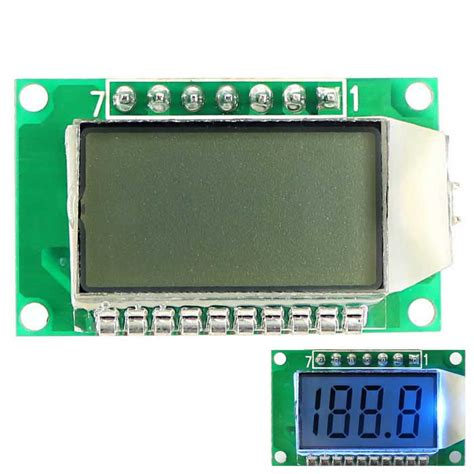 Ic Driver Led Tv Lg by 3 5 Digit 7 Segment Lcd Display Module W Backlit For