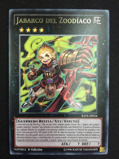 Zoodiac Thoroughblade yugioh zoodiac boarbow 1st rate sp054 30 00 en mercado libre