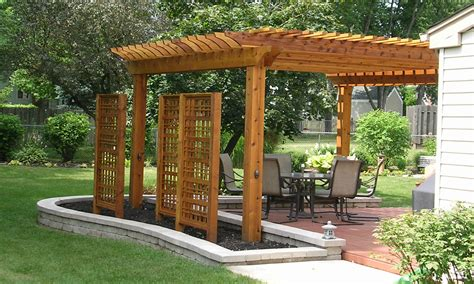 Arbors Pergolas And More On Pinterest Modern Pergola Pergola Designs