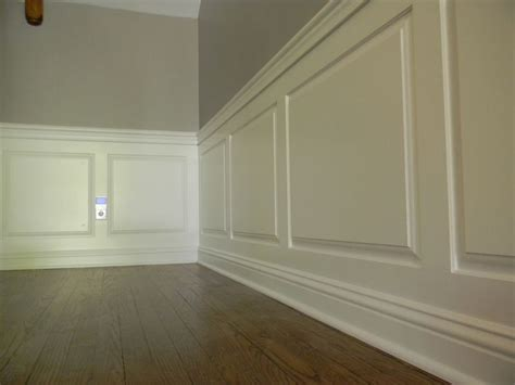 Raised Panel Wainscoting Diy by Raised Panel Wainscoting Wainscoting