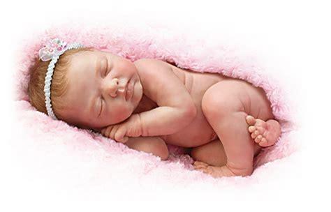 Unusual Clocks bundle of love newborn lifelike baby doll by ashton drake