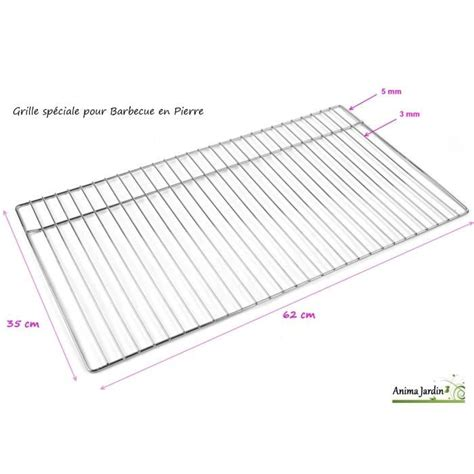 Grille Inox Pour Barbecue by Grille Barbecue 62 Achat Vente Grille Barbecue 62 Pas