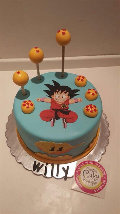 pastel decorado bonito las 20 tortas m 225 s lindas de dragon ball todo bonito