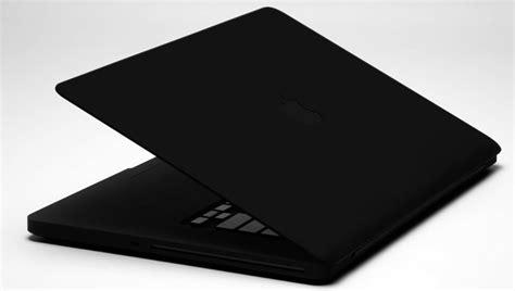 Macbook Pro Black colorware stealth macbook pro 6k matte black laptop slashgear