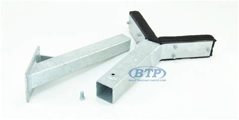 bow boat parts bow rest catcher assembly for boat trailer adjustable