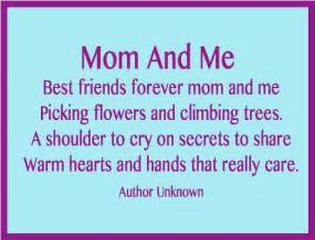Mom and me best friends forever mom and me picking flowers and