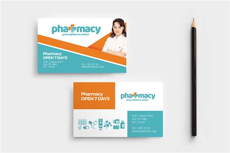 Pharmacy Business Cards