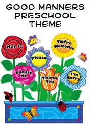 Garden Dental Arts - good manners theme and activities