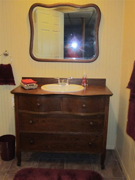1000 images about sink drcor on oak dresser