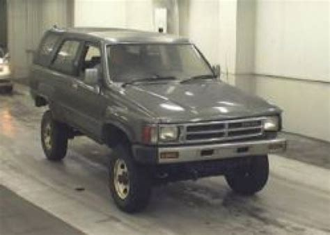 1988 Toyota Hilux Diesel For Sale Toyota Hilux Surf 1988 Used For Sale