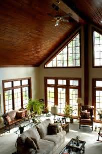 everything about this room cathedral ceilings the