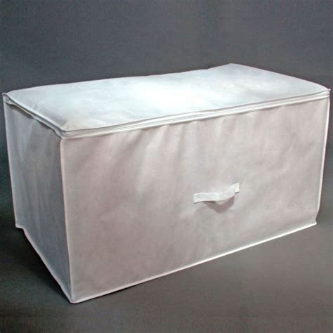 White Storage Bags large white storage bags with handle