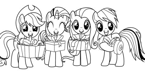 little pony christmas coloring pages fun learn free worksheets for kid my little pony