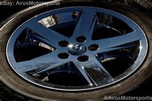 Dodge Ram 1500 Wheels Dodge Ram Oem Factory 20 Quot Chrome Clad Wheels Tires Hemi