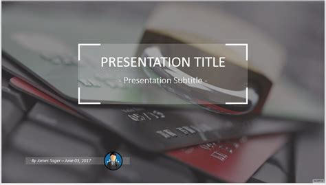 Free Credit Card Security Powerpoint 47174 Sagefox Card Powerpoint Template