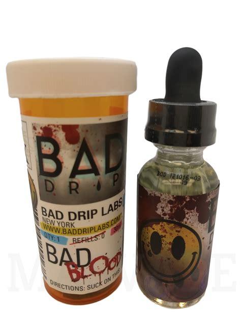 Bad Drip 30ml Perminum Liquid Usa Diskon bad drip bad blood 60 ml vape