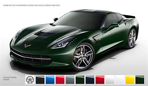 2014 corvette colors 2014 corvette stingray s color configurator allows you to